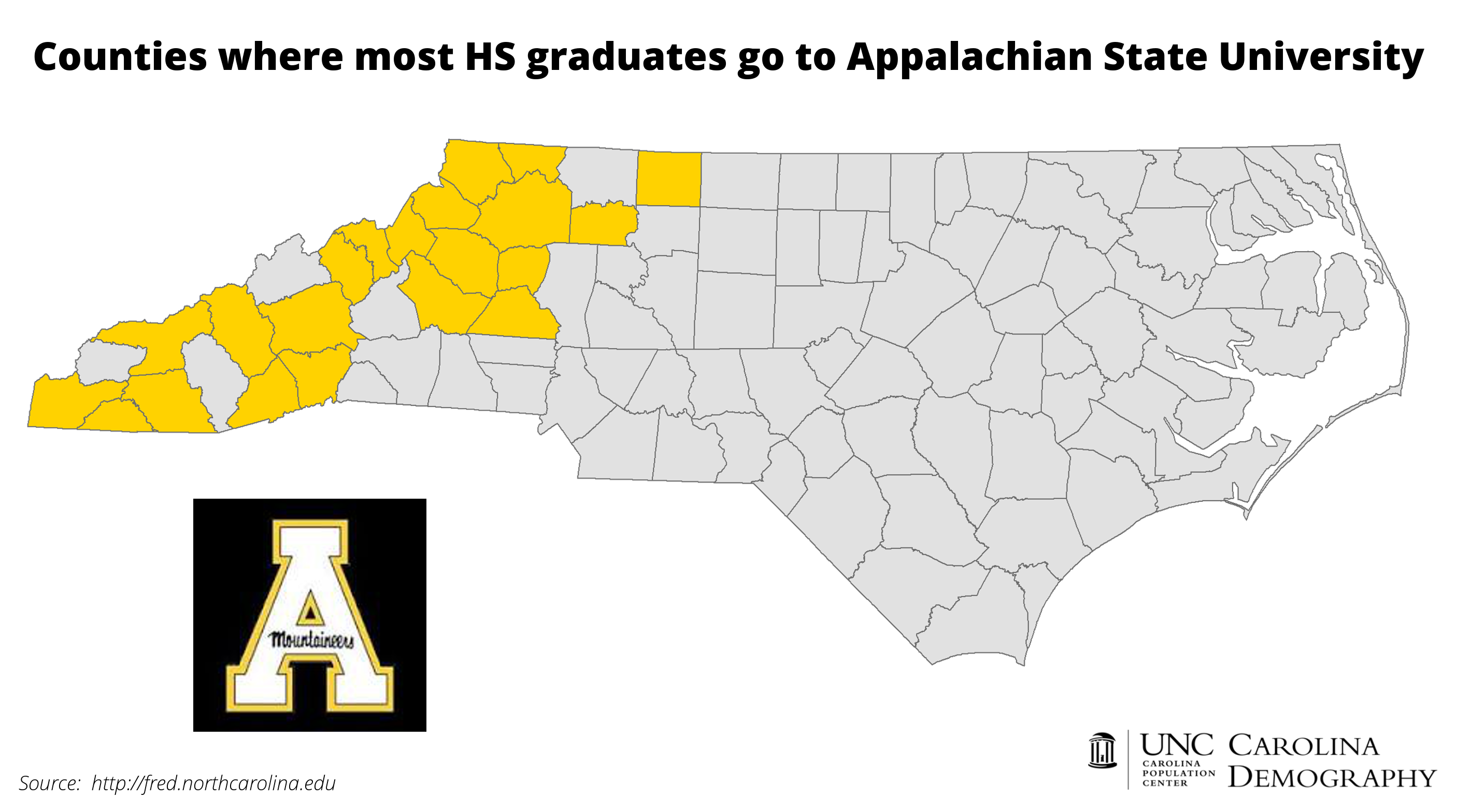 asusourcecountymapcd. college bound nc counties and unc school attendance  carolina