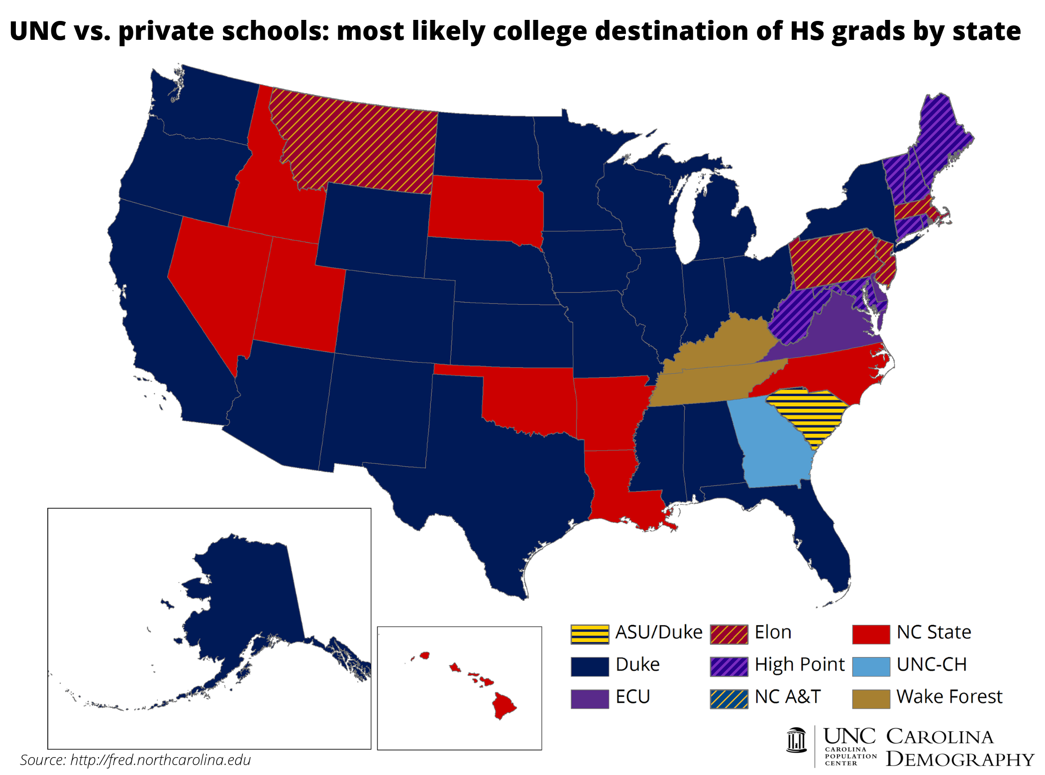 Colleges In Nc >> College Bound Out Of State Students Carolina Demography
