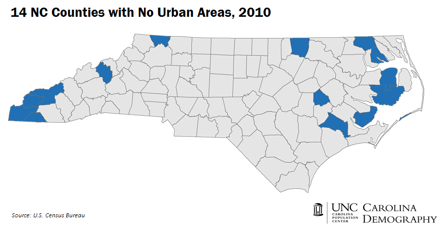 14 Counties with No Urban Areas_CD_Title
