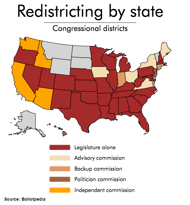 Congressional redistricting by state_Ballotpedia