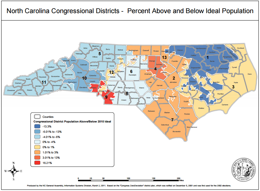 Redistricting North Carolina in 2011 Carolina Demography