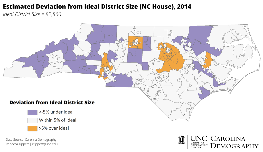 2014_NC House Deviation from Ideal_CD