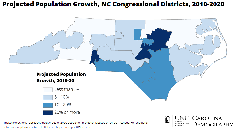 2020 projections_nc congressional districts_cd